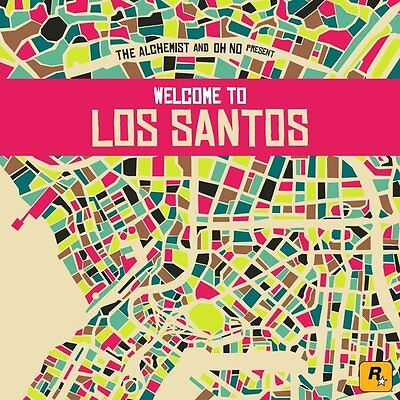 THE ALCHEMIST AND OH NO PRESENT Welcome To Los Santos 2015 US CD NEW/SEALED