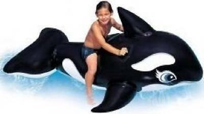 Intex Whale Ride-On Inflatable Kids Pool Toy