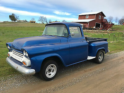 1958 Chevrolet Other Pickups DeLuxe 1958 Chevrolet Pickup, California Truck, Half Ton,Short Bed, 1955,1956,1957
