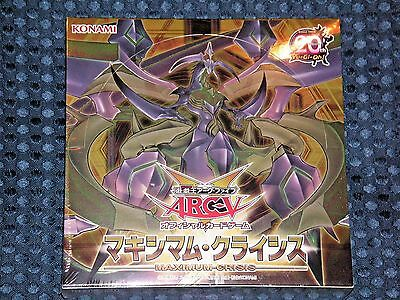 NEW YuGiOh! ARC-V OCG BASIC Maximum Crisis BOX KONAMI JAPAN King Dragon Zarc F/S