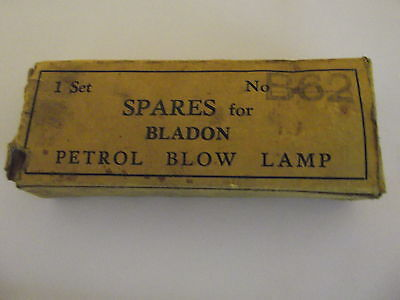Blowlamp spare parts ,Blaydon / Sievert , artifact or for use ?