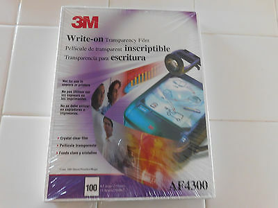 3M Transparency Film AF4300 for Copiers or Hand Writing, 100 Sheets 8.5 x 11