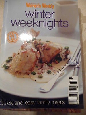 Womens Weekly mini cookbooks Winter Weeknights Quick and easy meals EUC