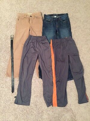 Boys 8-10 Jeans and Pants (free Belt)