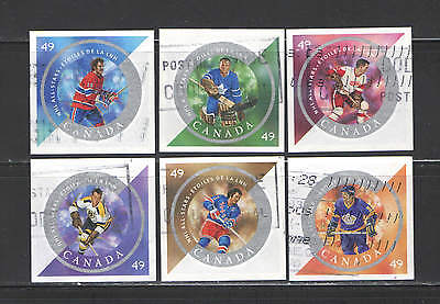 49¢  Hockey sport compl set imperforated VF