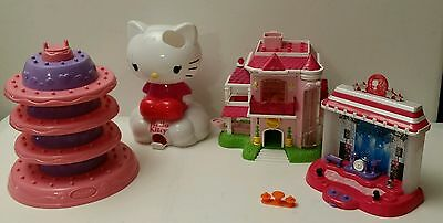 Squinkies Dispensers Only cake,Hello Kitty, Barbie house barbie Stage