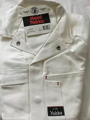 Hard Yakka OVERALLS PAINTERS WHITE -SIZE 87R ALL COTTON