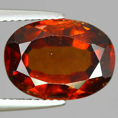5.490 Cts  Amazing Rare Unique Beautiful Natural Superb Hessonite Garnet Nr!!!!