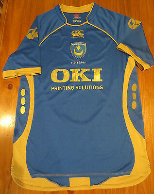 CANTERBURY PORTSMOUTH FC Small Jersey Soccer OKI 110 Years Home Anniversary