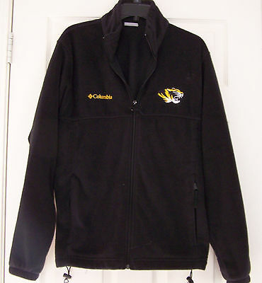 MIZZOU Tigers Zip up Columbia Sportswear Fleece Jacket Men's Size M