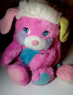 Mattel Popples pink and purple Party popple Vintage 1980s
