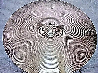 "VINTAGE Old 1960s 19"" LUDWIG STANDARD Paiste THIN CRASH Cymbal *Ex 1372g *WWSHIP"
