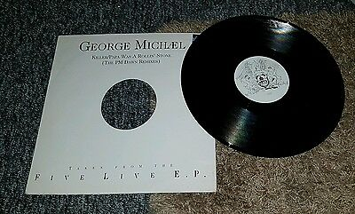 "George Michael - Killer / Papa Was A Rollin' Stone 12"" Vinyl PM Dawn Remixes"