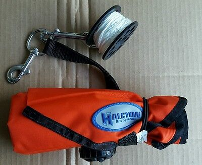 Halcyon 6ft Surface Marker and Reel Scuba Diving Dive
