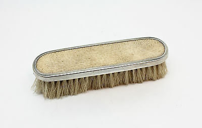 Antique Sterling Silver Art Deco Hallmarked Shagreen Backed Brush