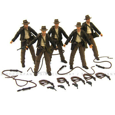 "Lot 5PCS Hasbro INDIANA JONES RAIDERS OF LOST ARK 3.75"" ACTION FIGURE Boy Toy"