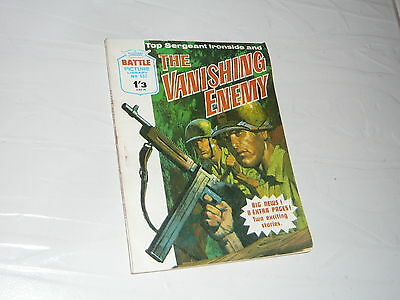 Battle Picture Library Comic Magazine No457 The Vanishing Enemy US German Army