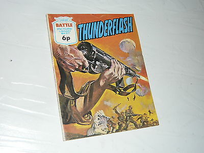 Battle Picture Library Comic Magazine No671 Thunderflash B17 Fortress WW2 WWII