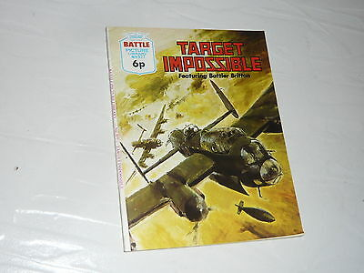 Battle Picture Library Comic Magazine No577 Target Impossible Avro Lancaster WW2