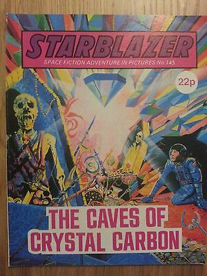 Starblazer Issue No 145 - The Caves of Crystal Carbon