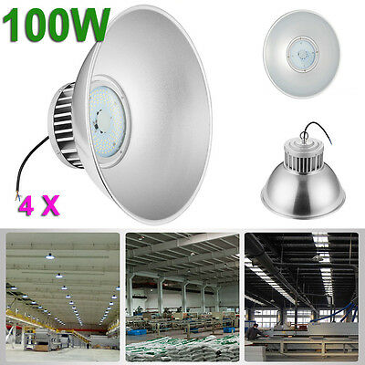 4 x 100W LED High Bay Lamp Commercial Warehouse Industrial Factory Shed Lighting
