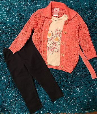 Girls Toddler Size 2T Nanette Girl 3 Piece Outfit