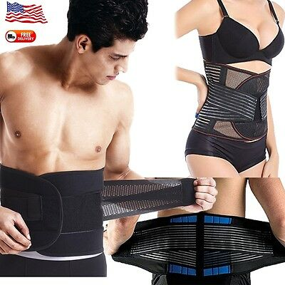 Extreme Fit Women Men Shaping Double Compression Waist Belt Stretches Band US D