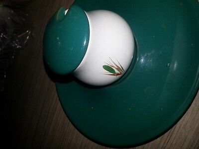 Collectable Denby mustard pot and saucer