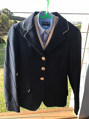 Show Coat With Vest And Shirt Size 8 Child's