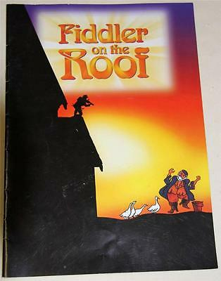 Fiddler On The Roof 2000 Souvenir Theatre Program - Excellent