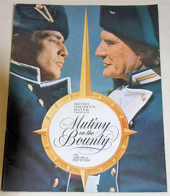Mutiny On The Bounty Souvenir Movie 1962 Program  Marlin Brando - Excellent