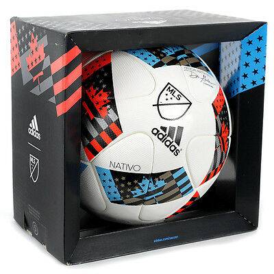 Adidas MLS Major League Soccer Official Match Ball Nativo AC5503 NEW!