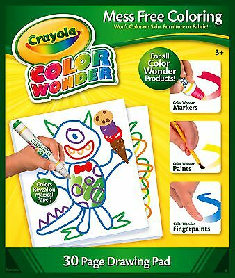 Crayola Colour Wonder (Color Wonder) - 30 Page Drawing Pad (Paper Refill Book)