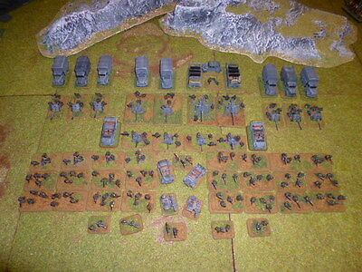 15mm PAINTED German Infantry Army WW2 suit Flames of War FOW