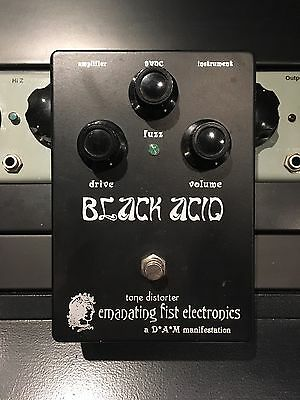 D*A*M Emanating Fist Electronics Black Acid