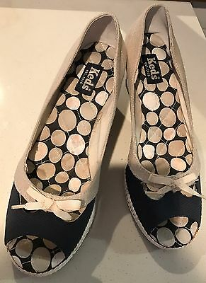 Keds womens Shoes With Wedge Heal Size 8