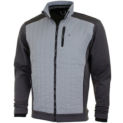 Calvin Klein Golf Long Sleeve Full Zip Quilted Jacket
