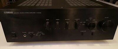 Yamaha A-S700 Natural Sound Stereo Integrated Amplifier 160 Watt Hardly Used