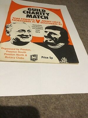 Guild Charity Match Very Rare Programme 1972