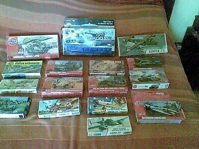 Airfix 16  Empty Boxes 1/72 176 Ho-00 More Old And Very Rare  See Details