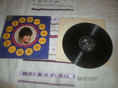 a lp vinyl record golden hits of shirley bassey 1968