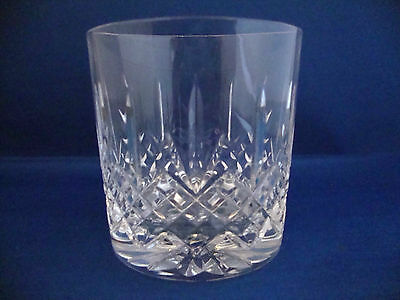 Edinburgh Crystal Kenmore Pattern Cut Old Fashioned Whisky Tumbler - Signed