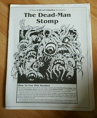 The dead-man stomp for call of cthulhu rpg