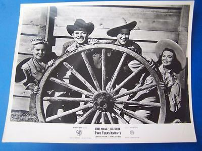 Two Texas Knights (A/F fold ) -  Lobby Card  Film Still (code BP3) 10 x 8