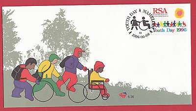 South Africa 1996 - FDC - Youth Day - Mamelodi Handstamp.