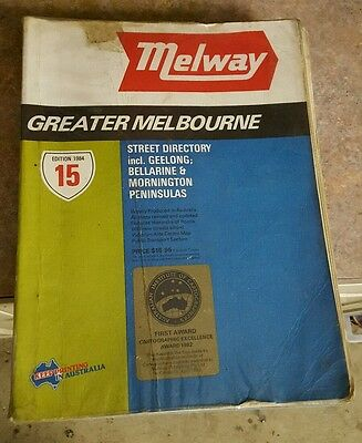 Melway 15 edition