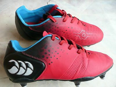 Boys Canterbury Control Rugby Boots Uk4