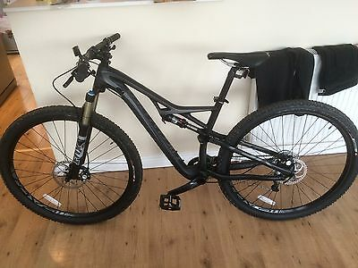 Specialized Camber Comp Carbon Mountain Bike Medium 2014