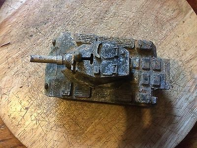 Dinky Toys Post War Military Green Army Light Tank # 152A  !!