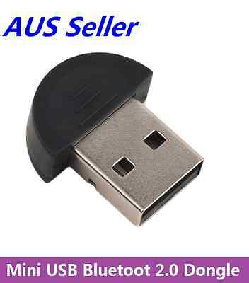 Mini Bluetooth 2.0 USB Wireless Dongle Adapter For PC Laptop 3Mbps Speed